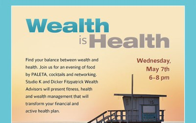 Wealth is Health Event, May 7