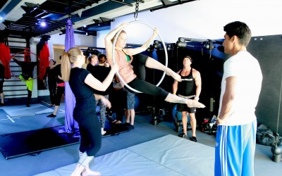 Aerial Fitness: Get Fit on the Fly