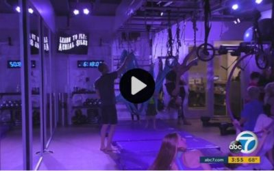 Aerial Workouts Help Increase Fitness Level For Children
